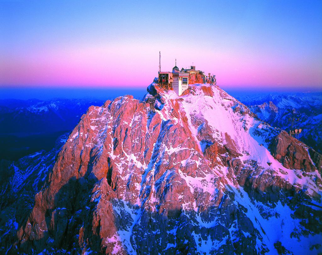 Restaurant On Top Of Zugspitze