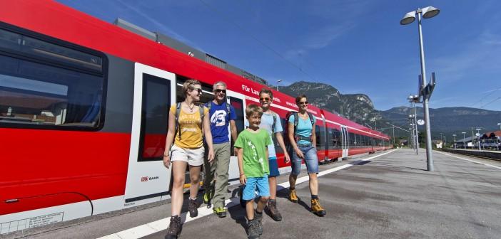Von München nach Garmisch mit dem Zug
