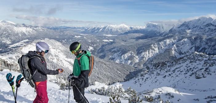 Skitouren bei Garmisch