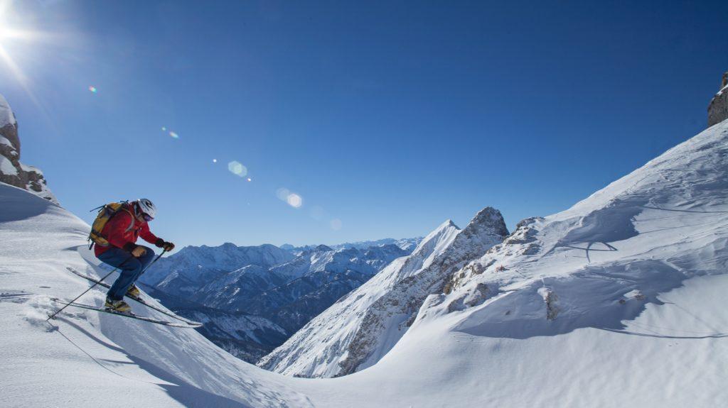 Dammkarabfahrt Zugspitze